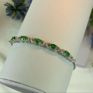 Russian Diopside Bolo Bracelet